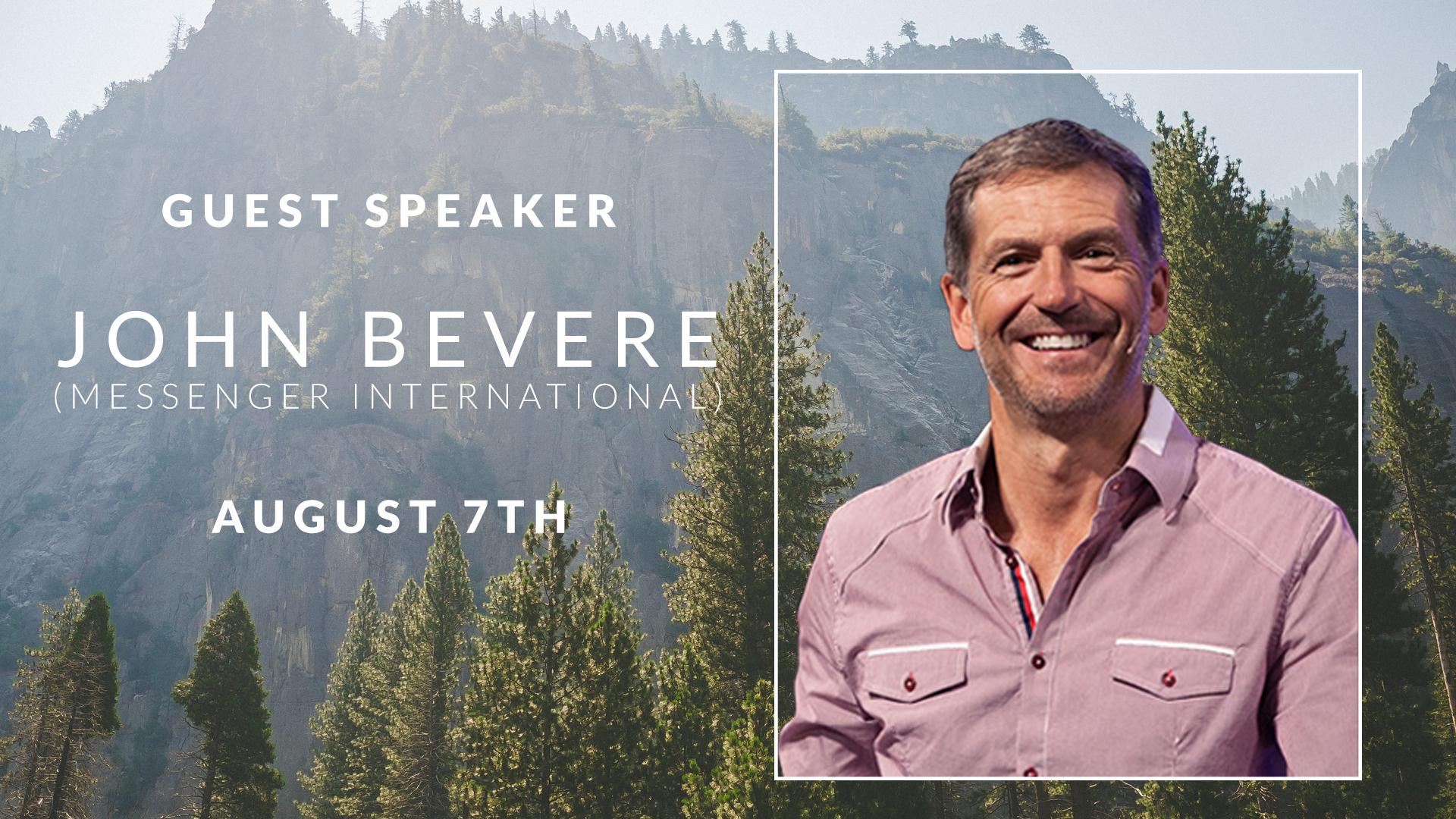 Guest Speaker | John Bevere