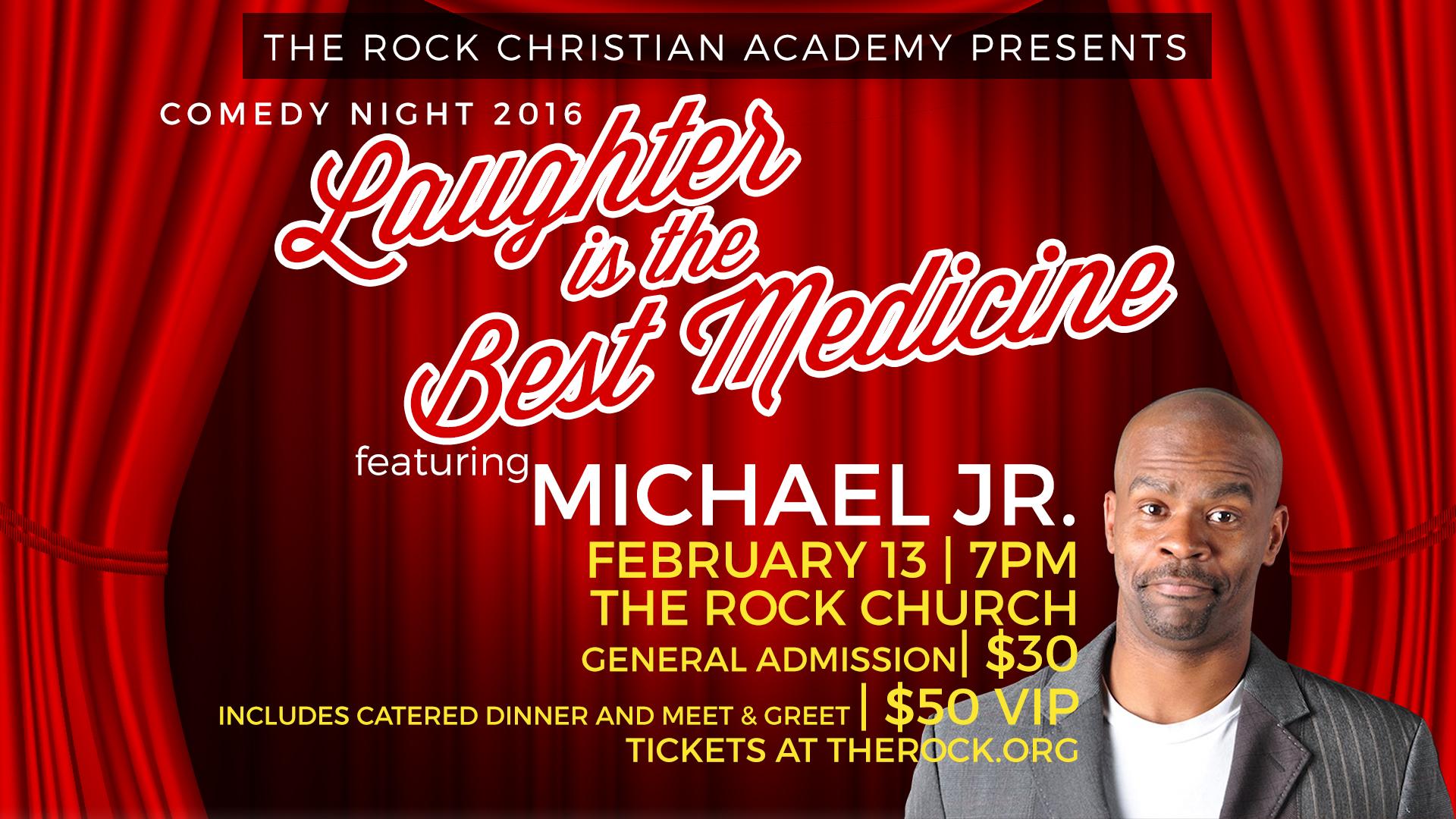 michael jr comedy night