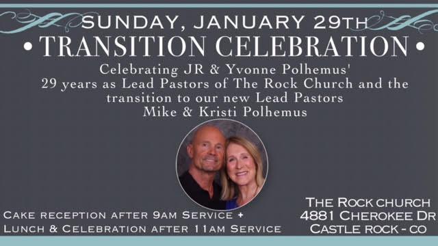 Transition Celebration